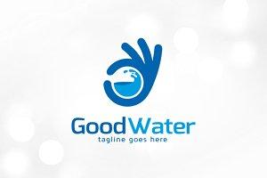 Good Water Logo Template