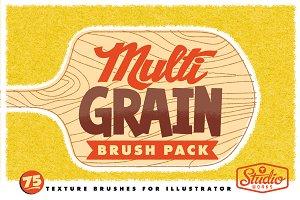 MultiGRAIN Brushes for Illustrator