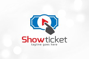 Show Ticket Logo Template