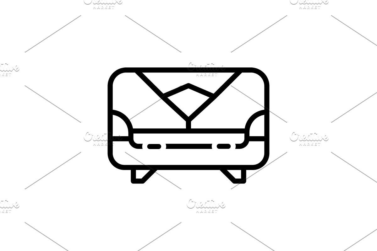 Sofa Furniture Icon