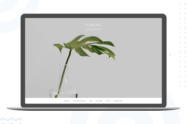 Sublime – Ghost Blogging Theme