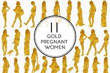 Gold Pregnant Women