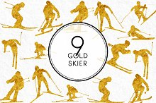 Gold Skiers