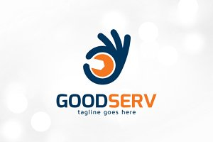Good Service Logo Template