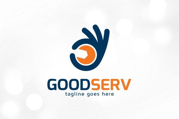 Good Service Logo Template Logo Templates Creative Market