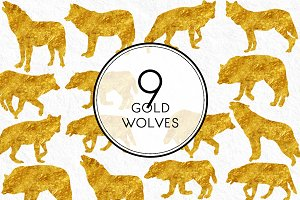 Gold Wolves