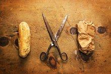 Stone, scissor and paper