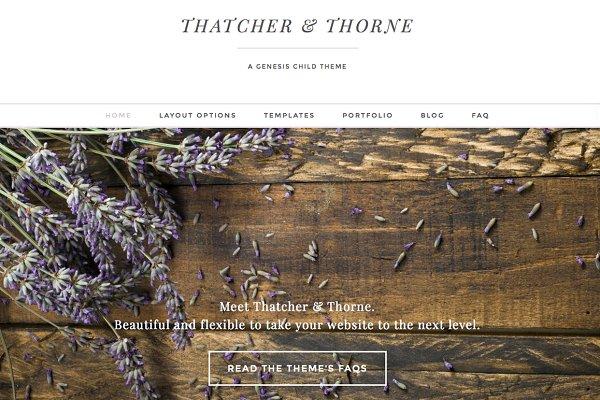 Thatcher & Thorne Genesis Theme