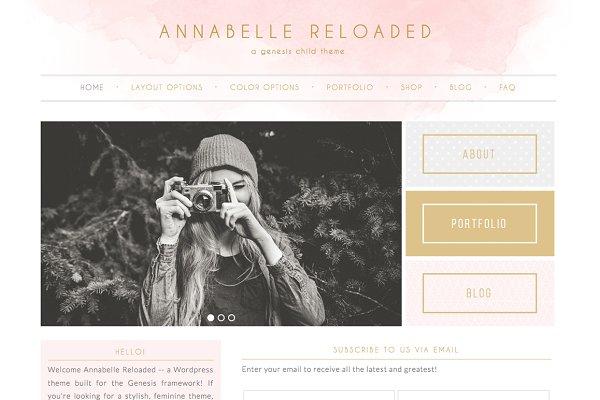 Annabelle Reloaded Genesis Theme