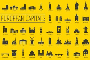 European Capital Landmarks