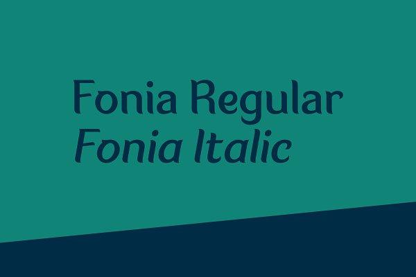 Best Fonia Vector