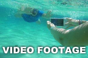 Taking smartphone underwater to get