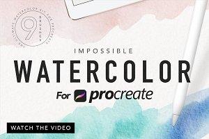 Procreate Watercolor Kit