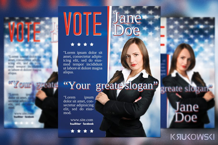 Vote Election Flyer Template Creative Flyer Templates Creative