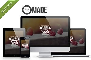 Made - multipurpose Bootstrap theme