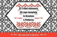 Tribal elements big set
