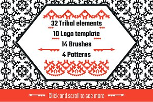 Tribal elements big set