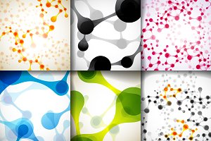 Beautiful molecular backgrounds.