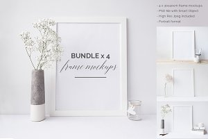 Frame mock ups Bundle