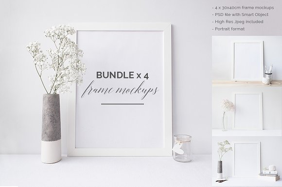 Download Frame mock ups Bundle