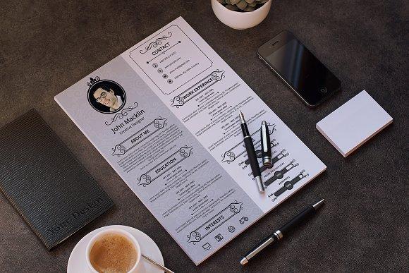 Vintage Resume/CV - Resumes