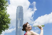 Woman with a Bottle of Water.jpg
