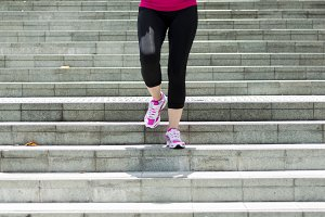 Woman running down Steps.jpg