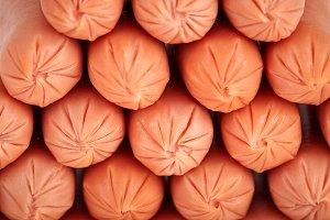 Pile of Frankfurters