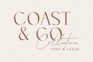 Coast & Co Font and Logos