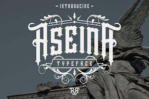 Aseina Typeface + Bonus (introsale)