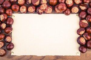 Frame from chestnut