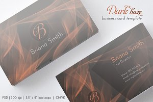 Dark Haze Business Card