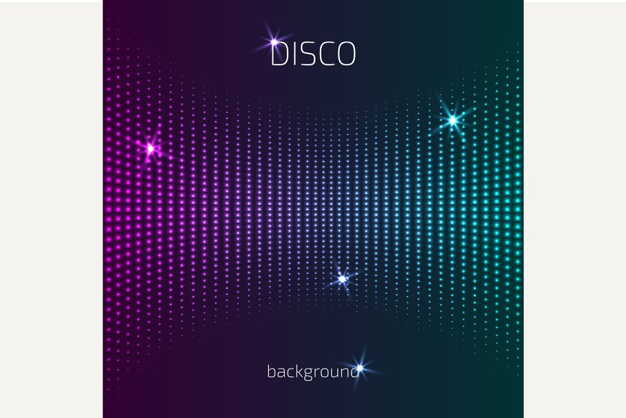 Abstract Colorful Club Background Custom Designed Graphics