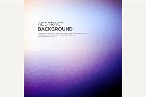 Abstract vector background with tria