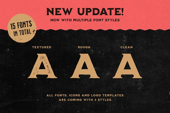 Milkstore Font Collection in Display Fonts - product preview 15