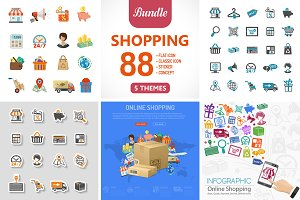Shopping and Delivery Themes