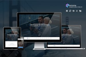 SEMONA | Business Joomla Template