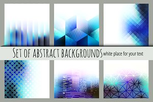 Vector abstract backgrounds.
