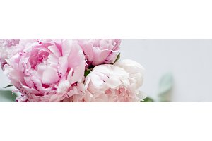 Floral Blog & Website Header Image