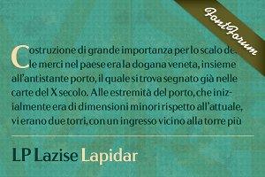 LP Lazise Lapidar