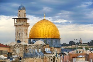 Dome of the Rock in Jerusalem~