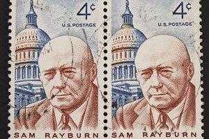 Sam Rayburn postage stamp
