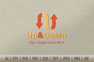 Up & Down Logo