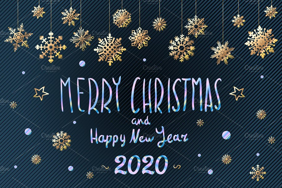 merry christmas happy new year 2020 pre designed illustrator graphics creative market merry christmas happy new year 2020