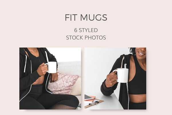 Fit Mugs (6 Styled Images)