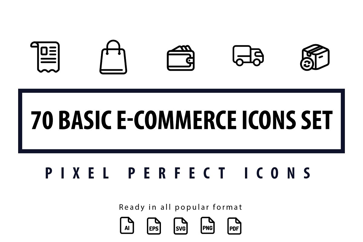 Basic E-commerce Icons