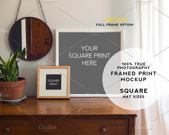 Download Home Series Framed Print Mockup #2