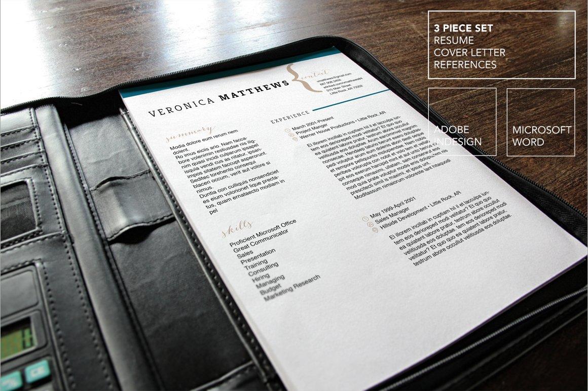 Resume Template   MS Word ~ Resume Templates ~ Creative Market