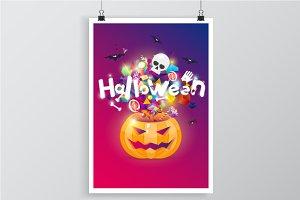 Halloween posters.