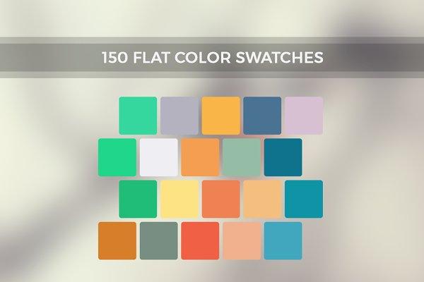 Palettes: Prashant - Inspire Me - 150 Flat Color Swatches